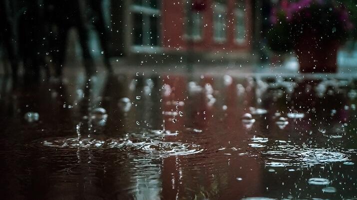 charco lluvia