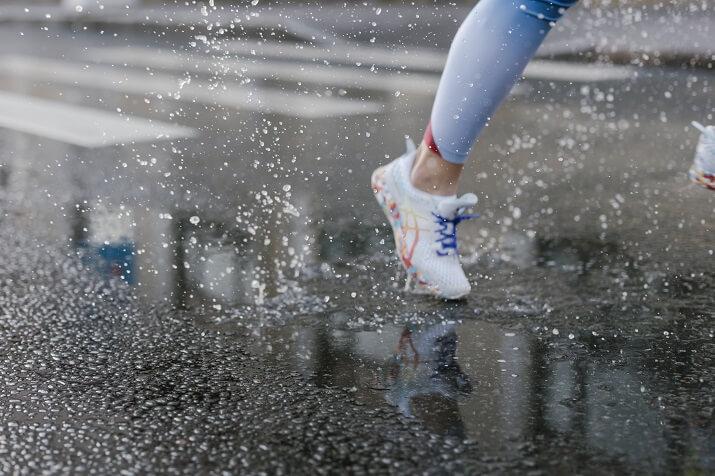 zapatillas lluvia running