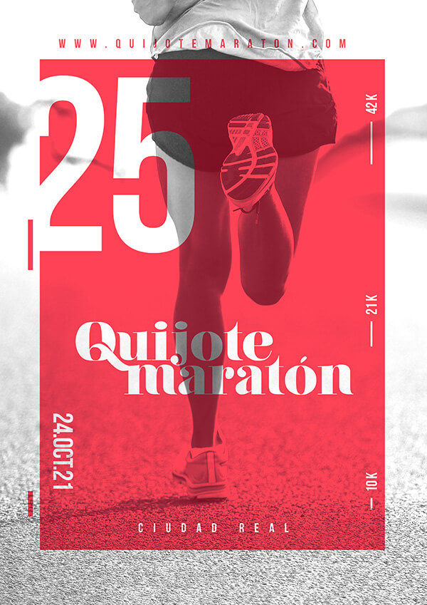 maratón de Ciudad Real, Castilla-La Mancha (Quijote Maratón) 2021