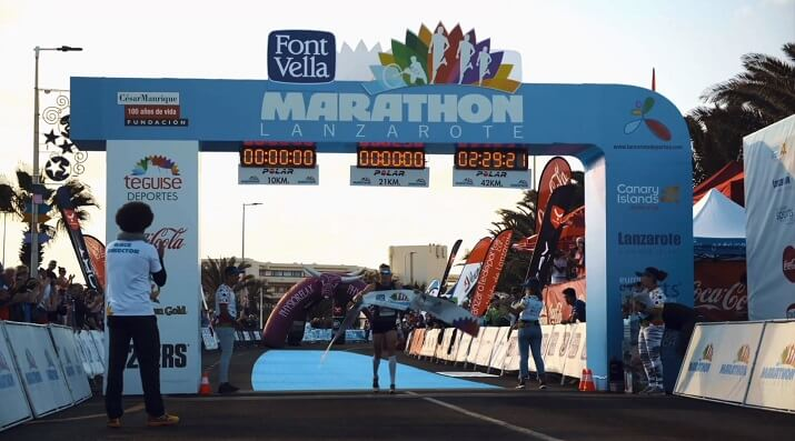 ganador lanzarote Marathon