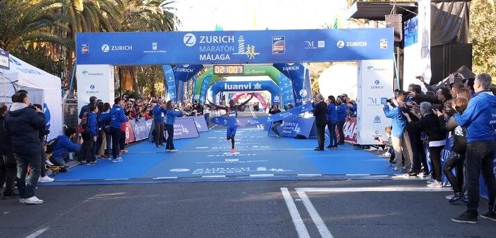 ganador maratón Malaga