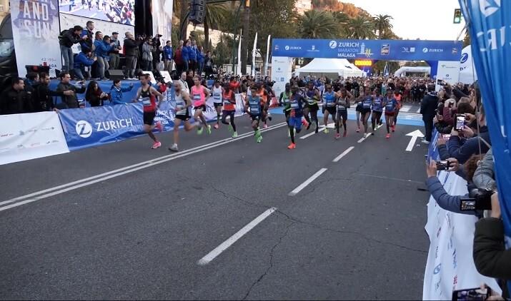 salida maratón Malaga