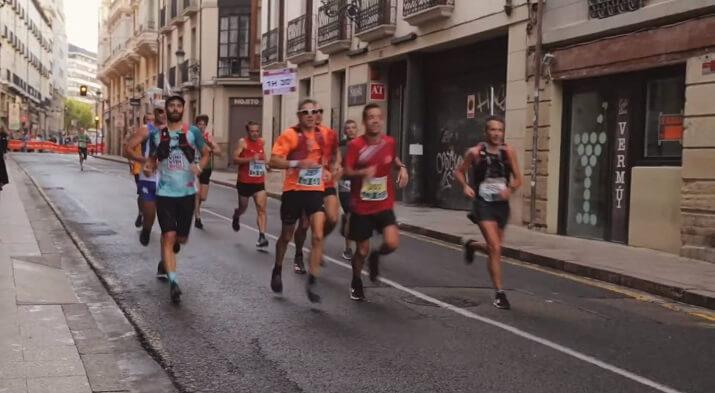 corredores maratón de Logroño