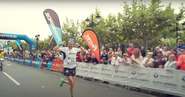 ganador maratón Logroño