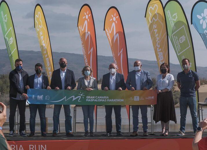 presentación gran canaria Maspalomas marathon