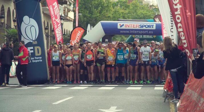 salida maratón Logroño
