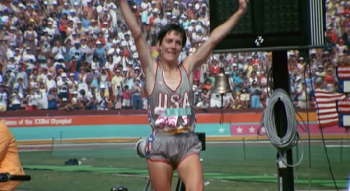 Joan Benoit primera campeona olímpica maratón