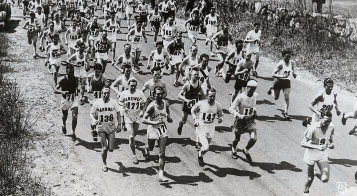maratón de Boston 1940