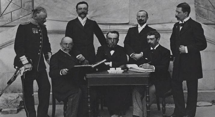 Miembros del primer Comité Olímpico Internacional