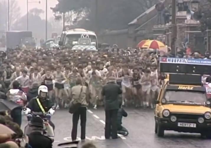 primera maratón Londres 1981