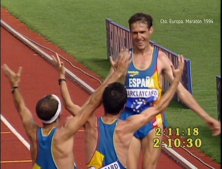 Triplete español en el Europeo Maratón Helsinki 1994