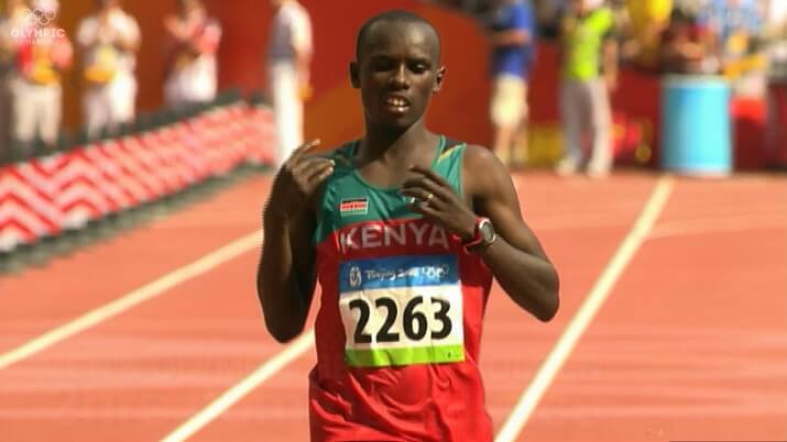 Samuel Wanjiru récord olímpico